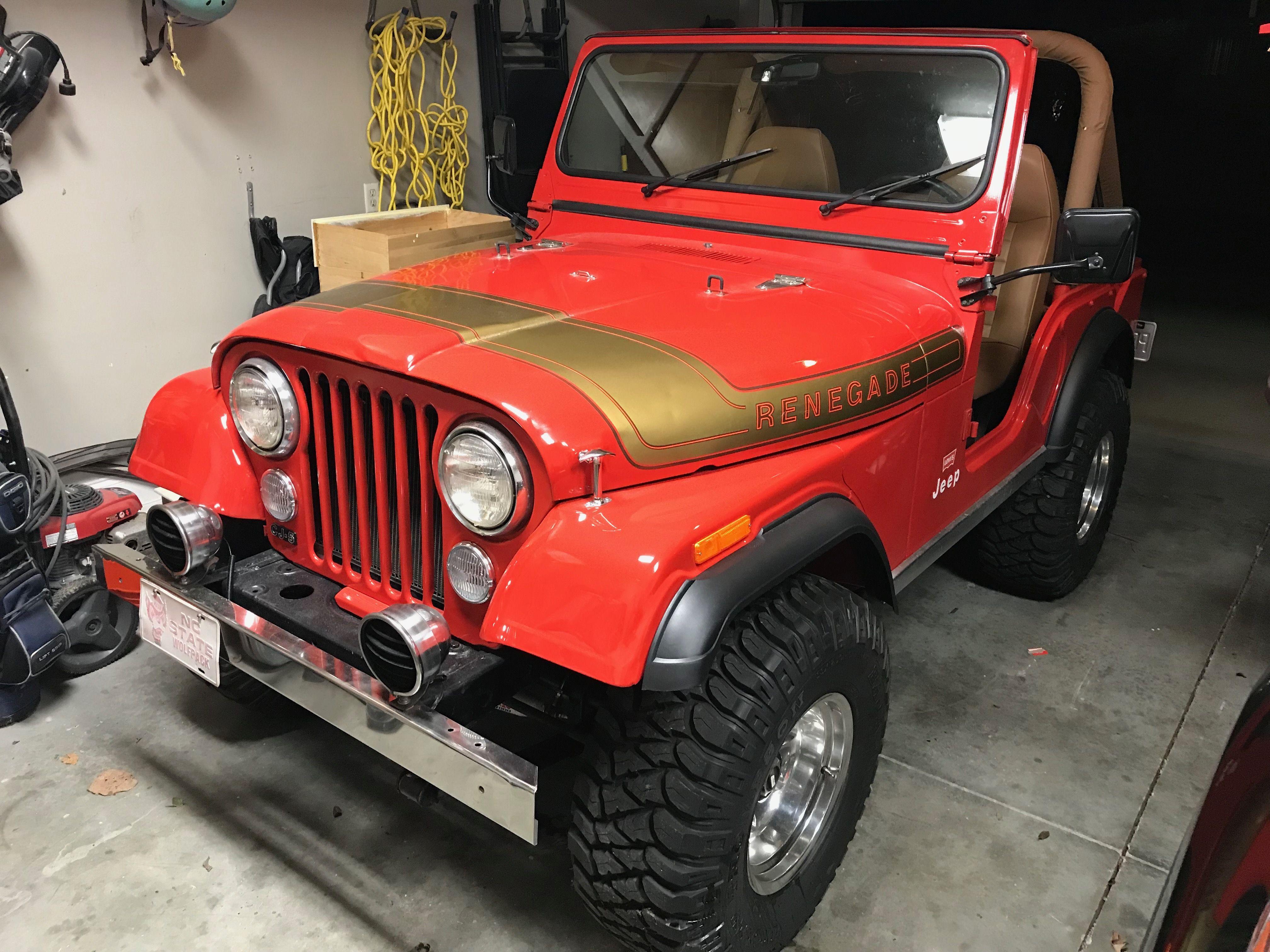 CJ5 red renegade | Jeep CJ | Pinterest | Jeeps, Jeep truck and Jeep jeep