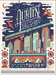 ACL Festival poster