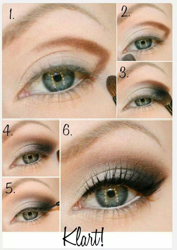Hooded Eye Make Up Idea   Perfect presentation   Brown