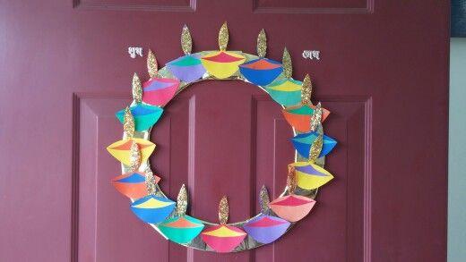 explaining diwali to preschoolers diwali decoration diwali crafts diy diwali wreath for 410