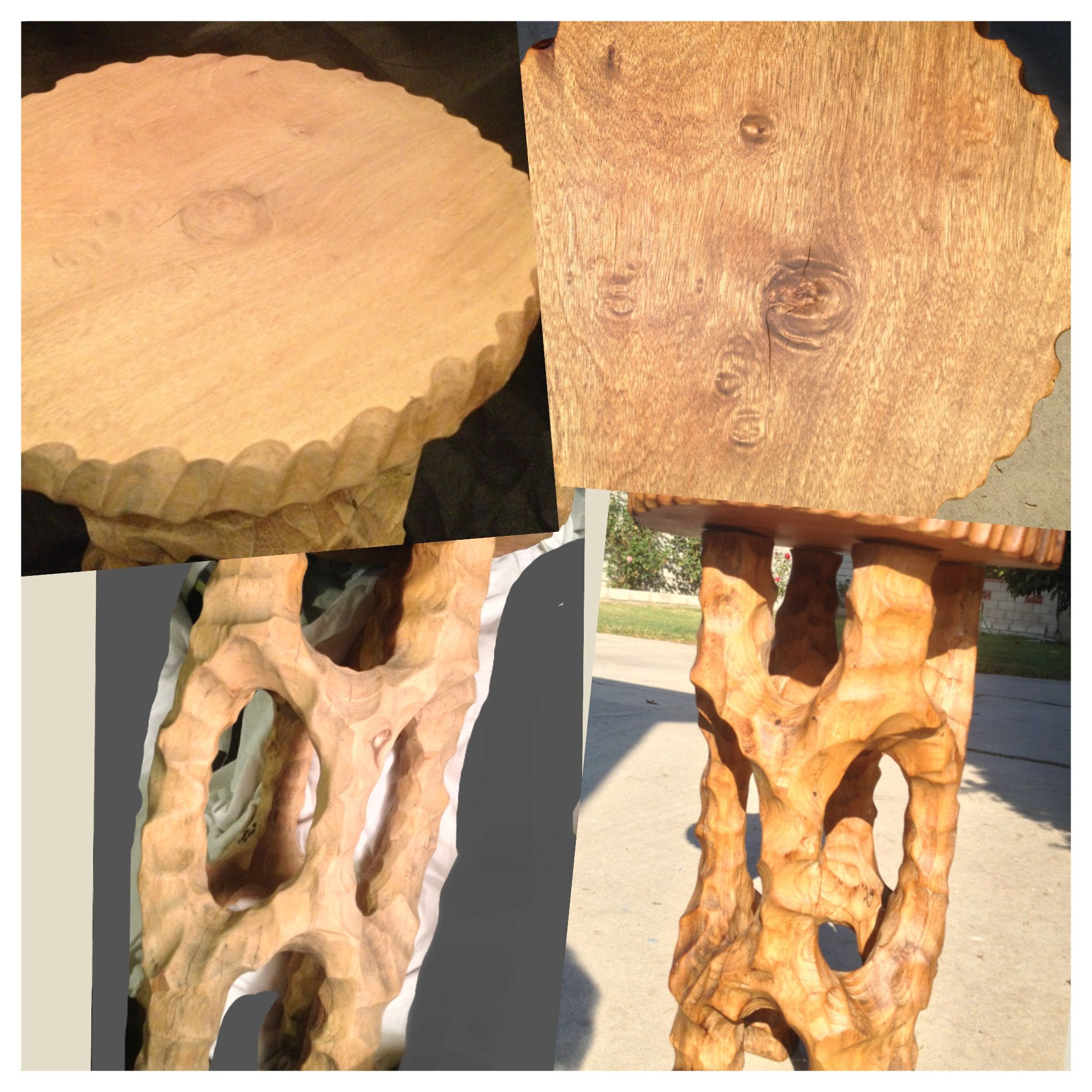 best images about vintage carved plant stand or stool on