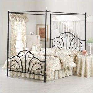 Metal Twin Canopy Bed Elegant Bed Sets Kanopi Tempat Tidur