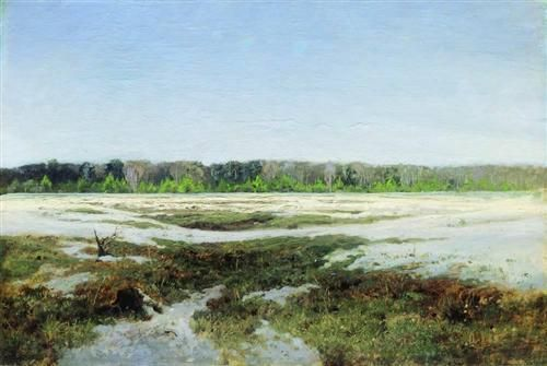 Early spring --Isaac LEVITAN (1860 - 1900)