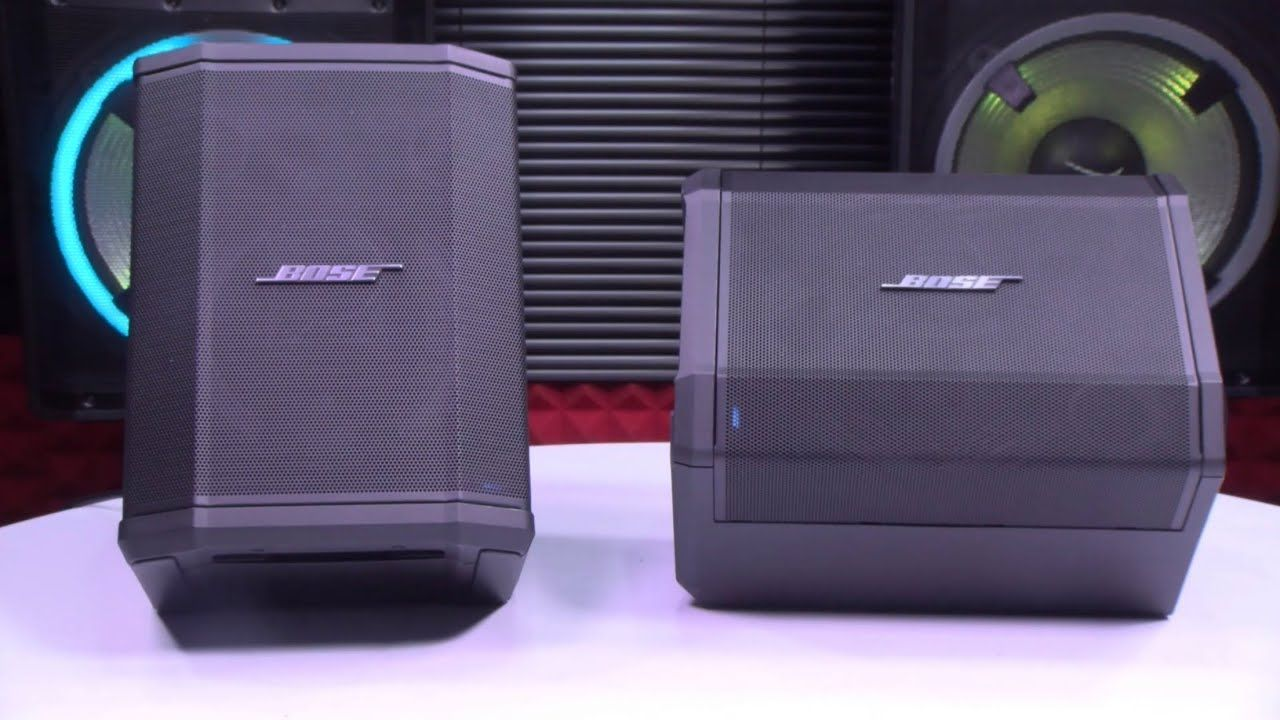Bose S1 Pro Multi Position Pa System Prepare To Be Blown Away Youtube Pa System System Bose