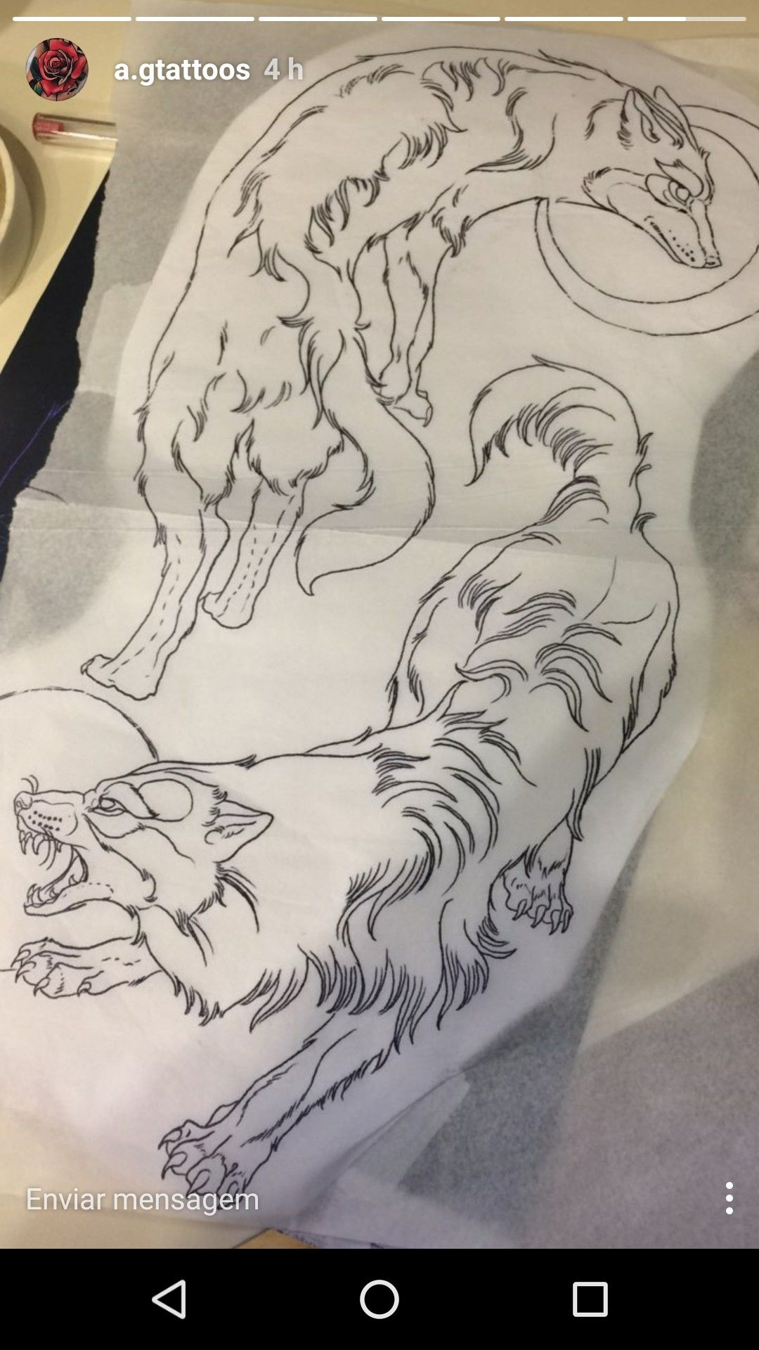 d38c02a11 Skoll e Hati | Tattoos | Wolf tattoos, Werewolf tattoo, Fighting tattoo