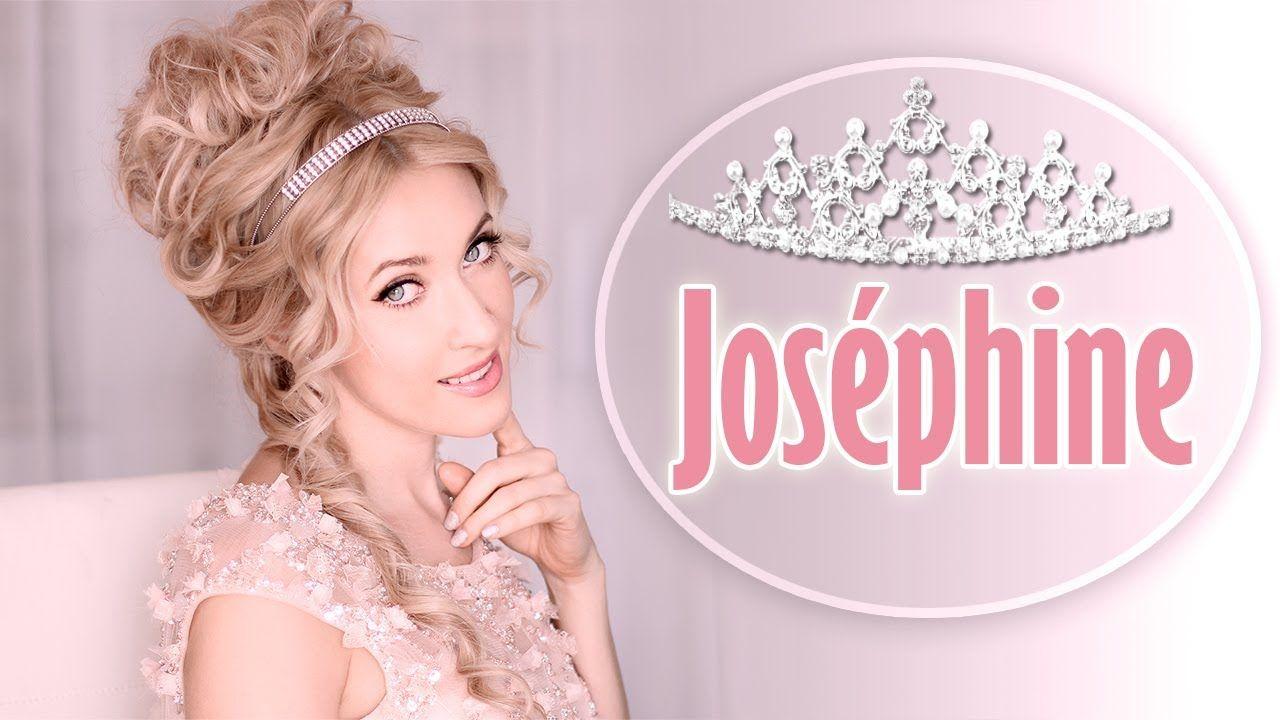 Tuto coiffure rapide et facile de l\'impératrice Joséphine + CONCOURS ...
