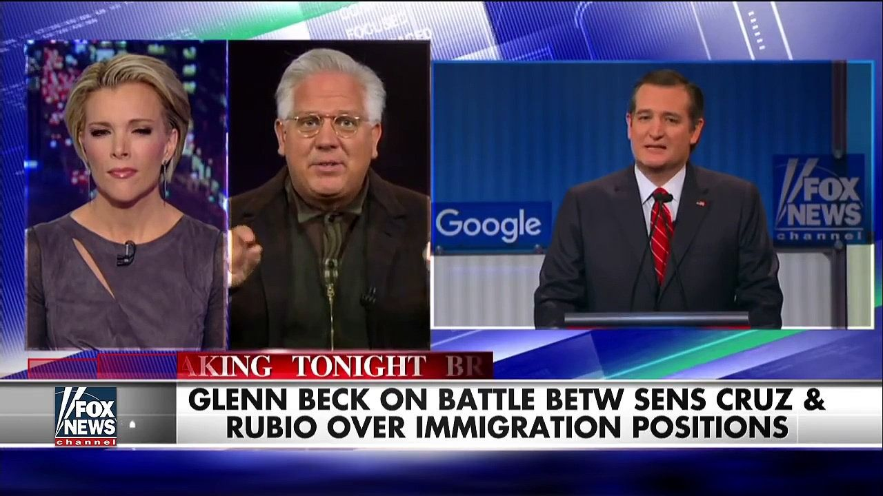 Glenn Beck: Rubio turning his record upside down, inside out