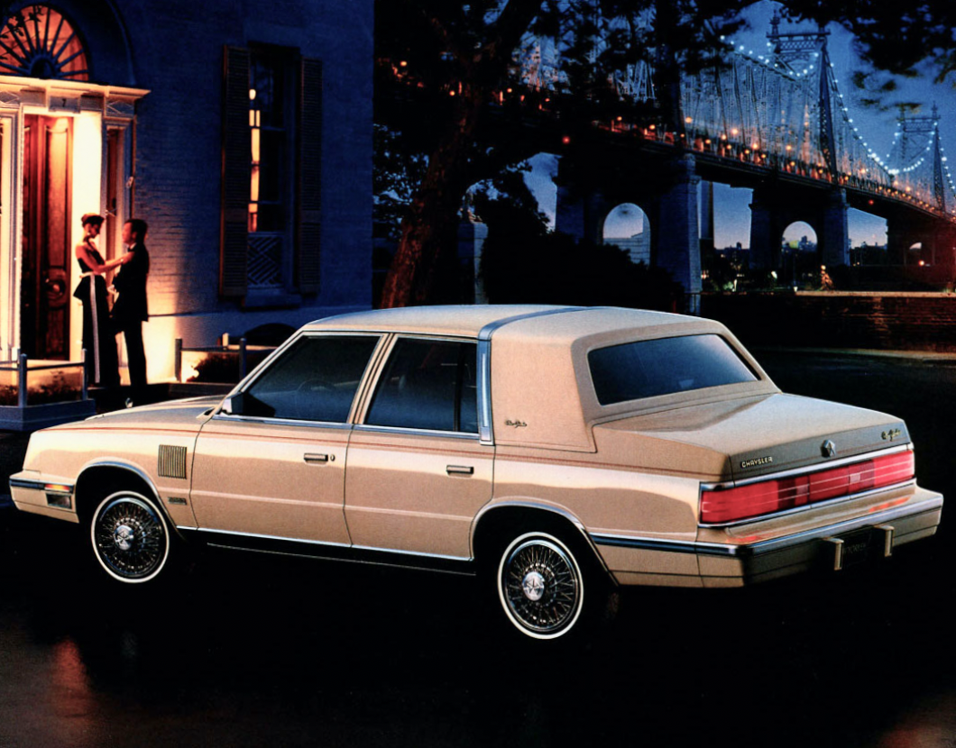 1986 Chrysler New Yorker In 2020 Chrysler New Yorker Chrysler Bmw Car