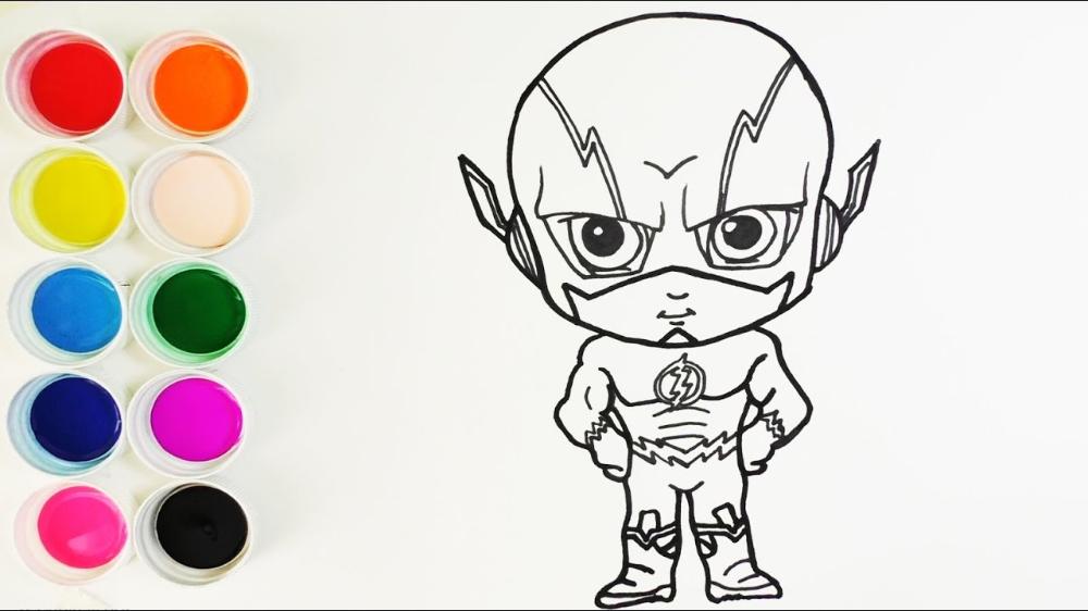 Como Dibujar Y Colorear Flash Dibujos Para Ninos How To Flash Dibujo Dibujos Para Ninos Dibujos De Colores
