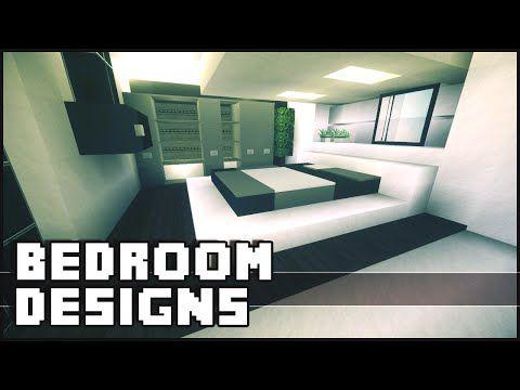 Minecraft  Bedroom Designs & Ideas  Youtube  Minecraft Pleasing Minecraft Interior Design Bedroom Decorating Inspiration