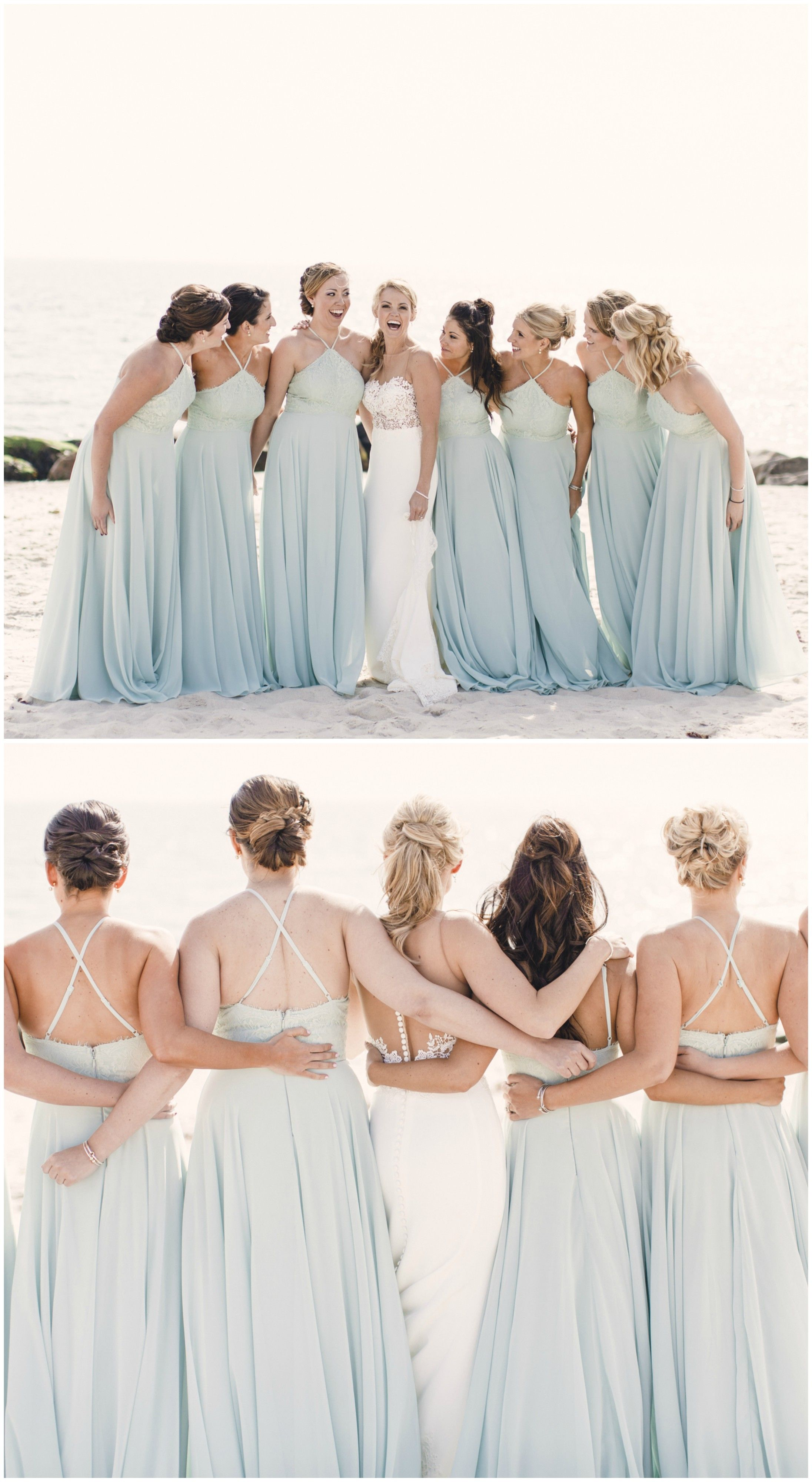 Romantic spring mansion wedding waterford ct party lighting beach wedding bridal party light blue bridesmaid dresses matching long gowns pin to ombrellifo Image collections