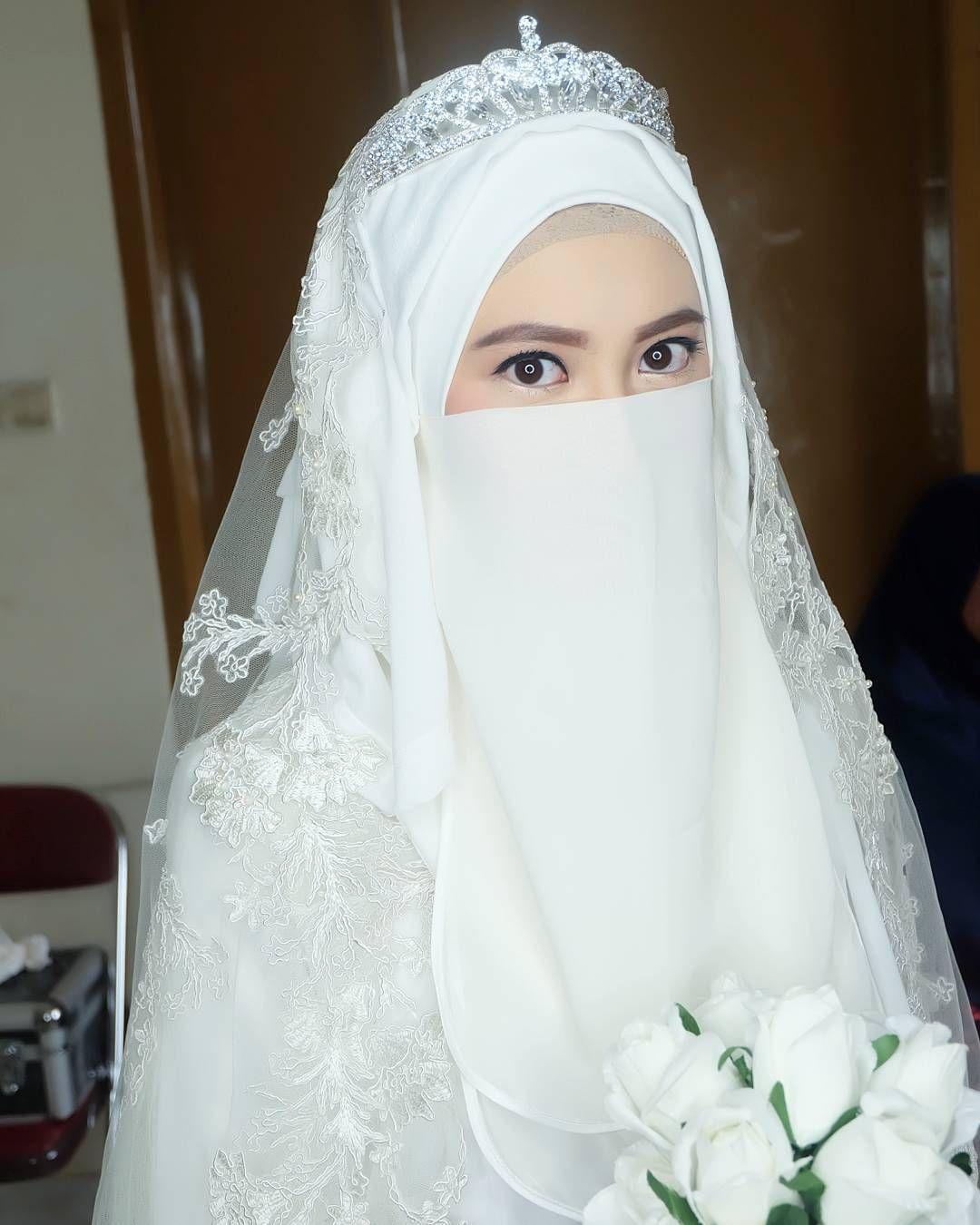 Akad Nikah Teh Shannaz Makeup And Hijab Syar I As Requested A Very