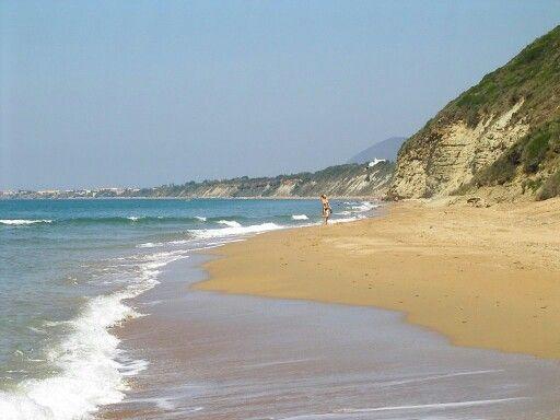St Barbara Beach Corfu