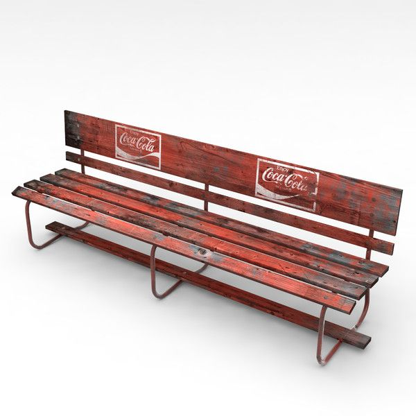 Old Urban Seat by IsraTan  Avaliable on TurboSquid com | Trains