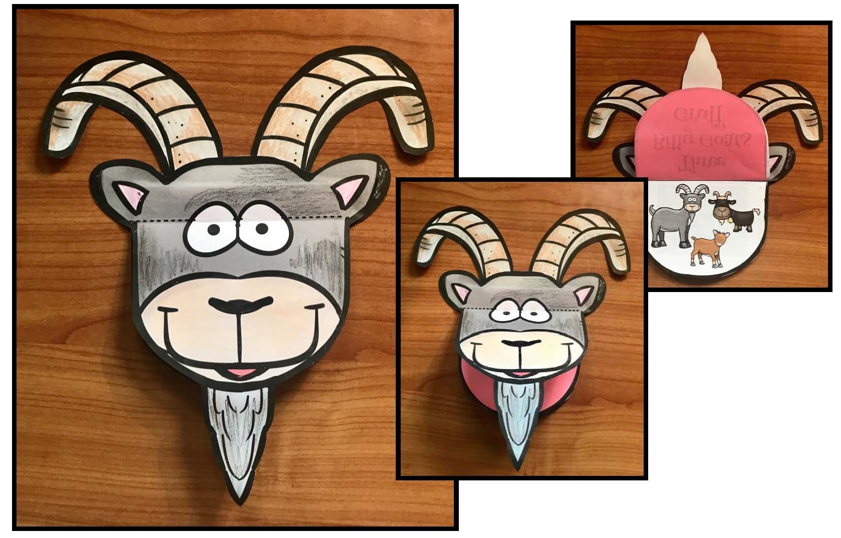 Activities For 3 Billy Goats Gruff