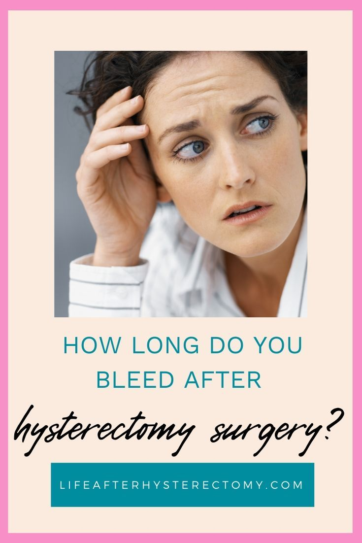 Pin on hysterectomy recovery