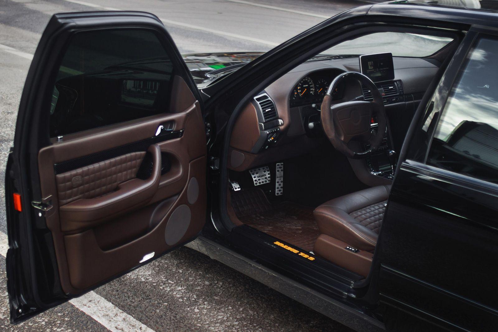 Brabus W140 7 3 S Mercedes Benz Interior Mercedes Car Mercedes