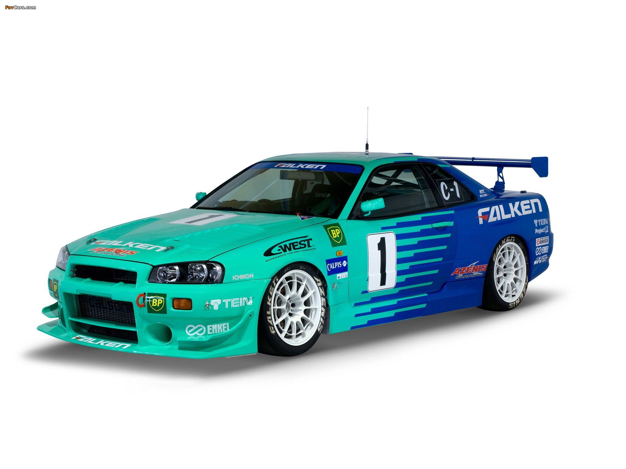 Nissan skyline gt r jgtc race car bnr34 19992003 nissan nissan skyline gt r jgtc race car bnr34 19992003 vanachro Choice Image