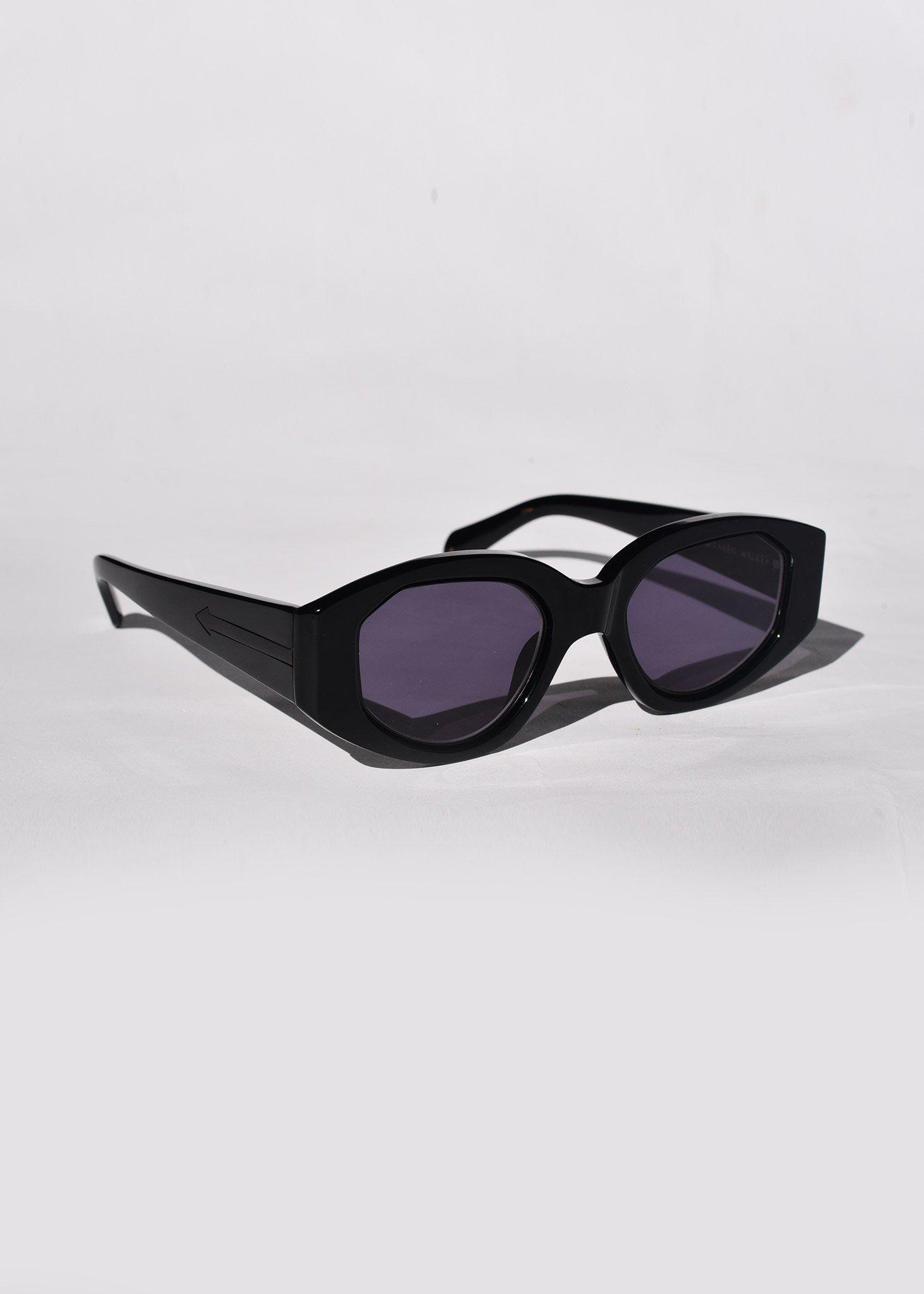 4db0b1b578d Castaway Sunglasses in black by Karen Walker at Dead Pretty ...