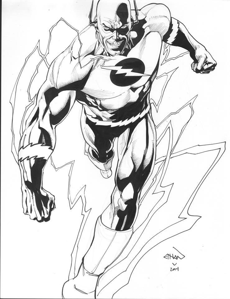 The Flash by Ethan Van Sciver Marvel/DC/Image/Dark Horse