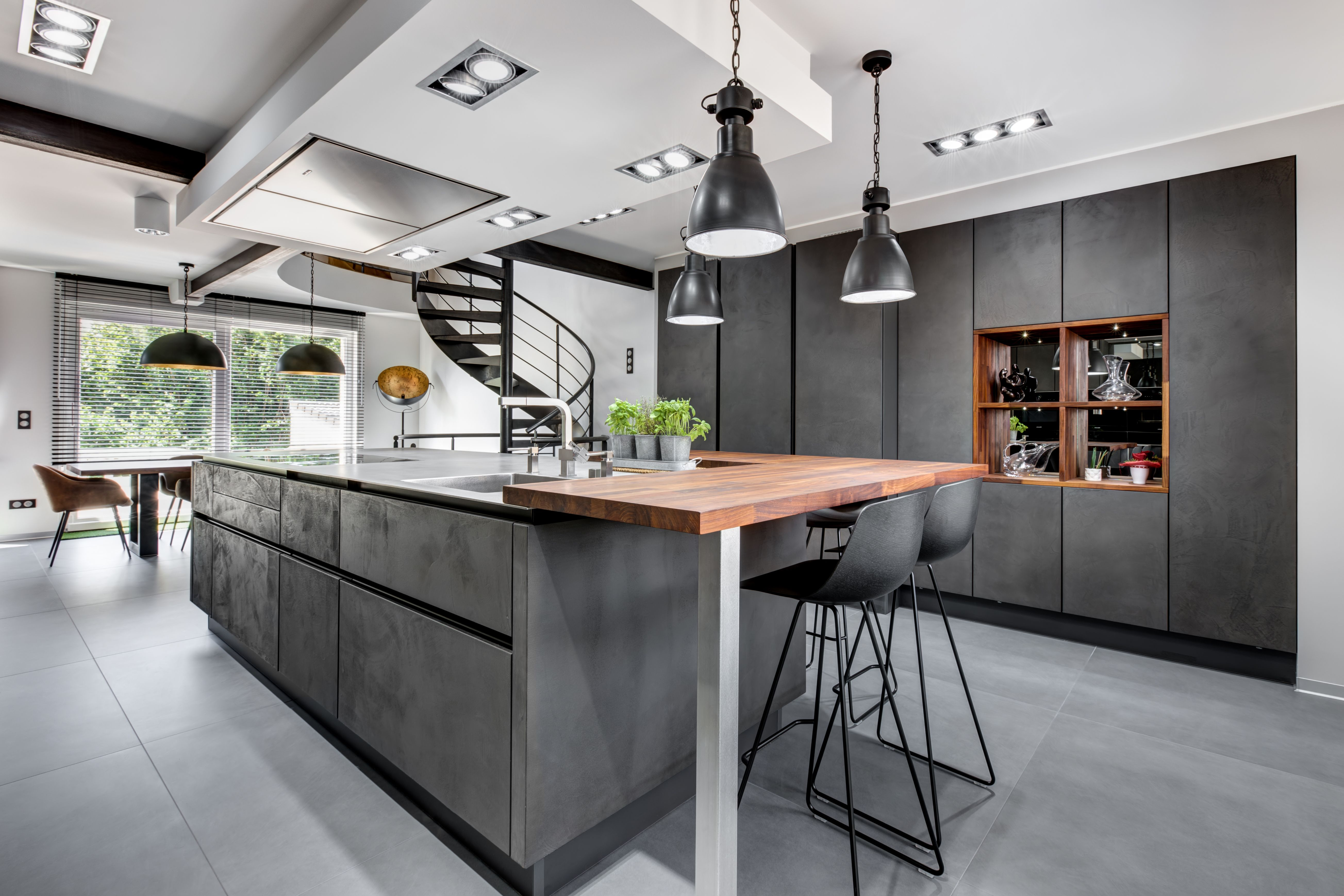 Realisation Ytter Design Bertrange Luxembourg Kitchen Design Design Furniture Design