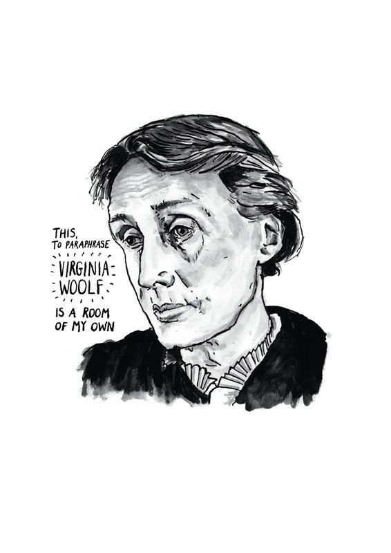 Virginia Woolf Poster Print Great Writer Etsy Literary English Literature Quotes Paraphrase Of The Poem Mirror By Sylvia Plath