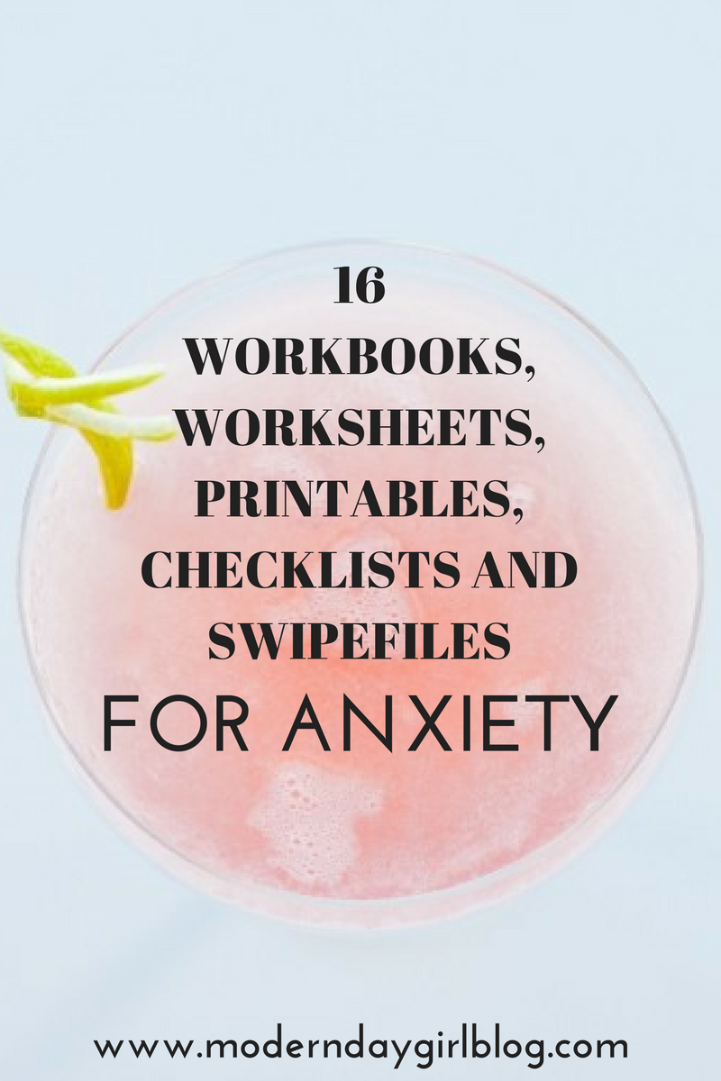 Workbooks workbooks.worksheets : The best anxiety tips, advice, help and inspiration for women. Don ...