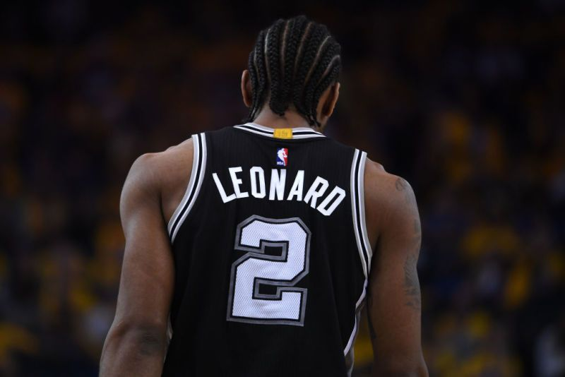 411c39976f27 Kawhi Leonard was probably born with braids. He s had them ever since  anyone can remember