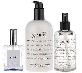 Philosophy Inner Grace 3 Piece Collection Qvc Com Philosophy Products Scents Favorite Scents