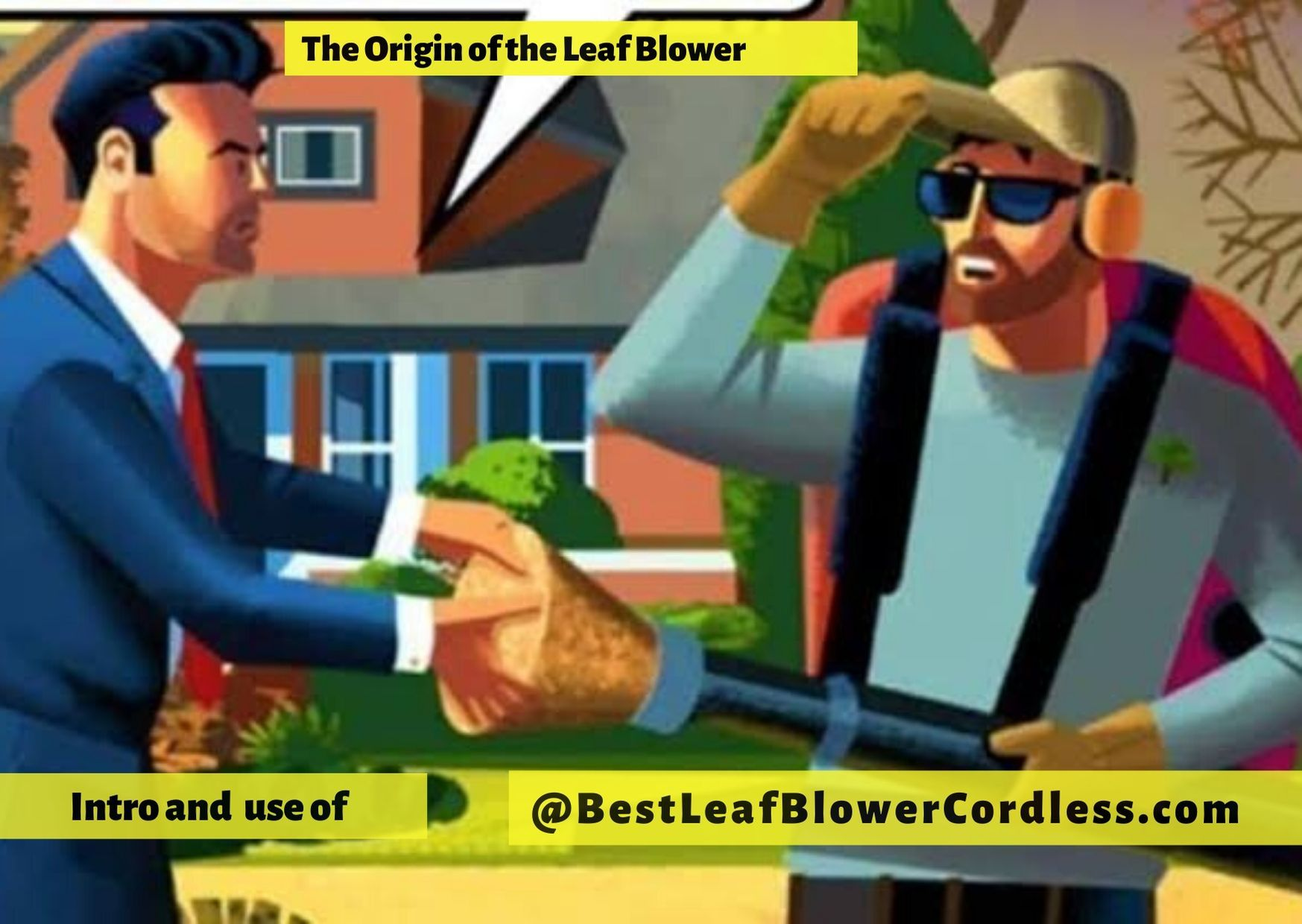 The Origin of the Leaf Blower in 2020 Blowers