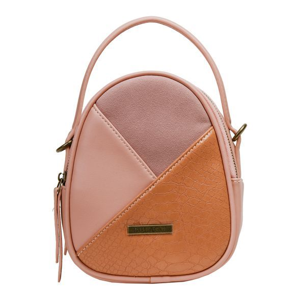 a83c64d26f1 peach and pink cross body bag livy bulaggi animal skin | zalm roze /  perzikkleur crossbody