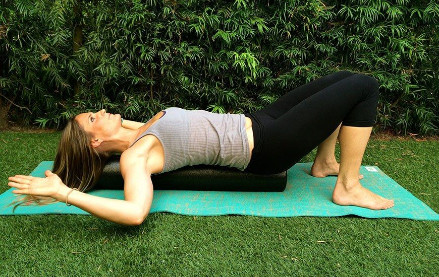 Look Taller and Feel Thinner in 5 Moves Exercise, Foam