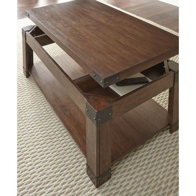 Darby Home Co Angelique Lift Top Coffee Table Coffee Table