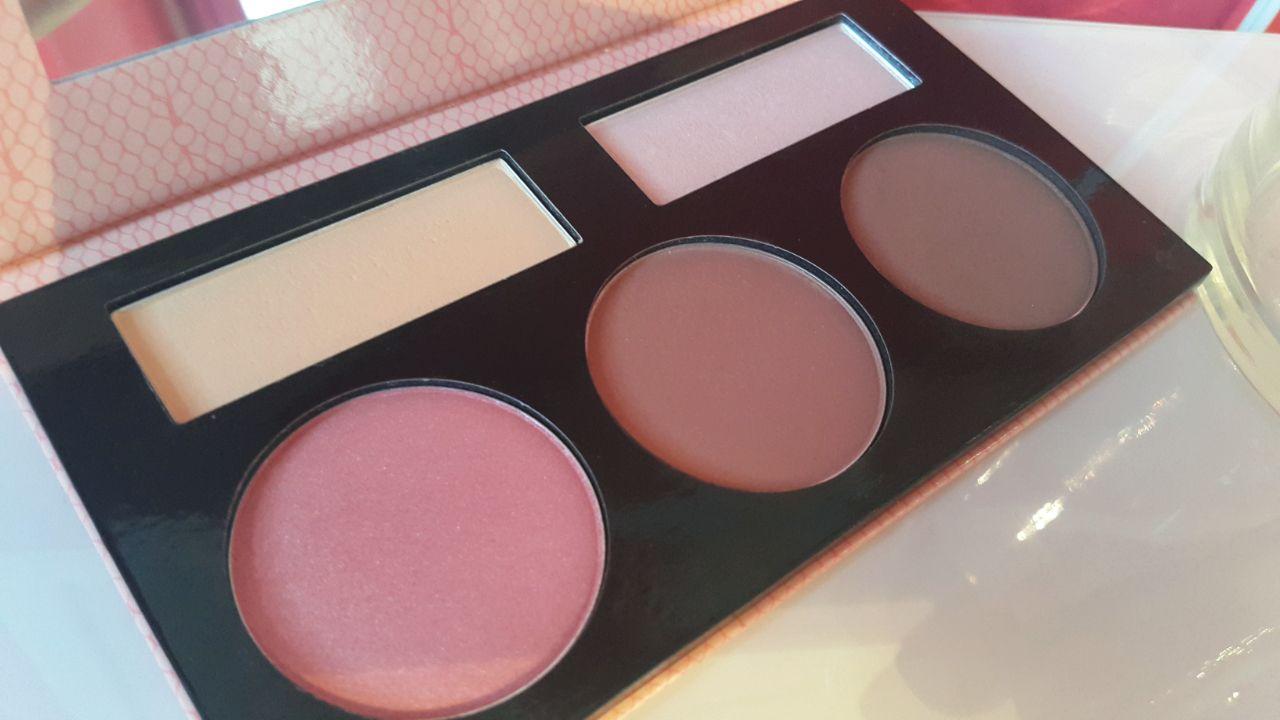 bh cosmetics 10 Color Blush Palette - Nude Blush Palette