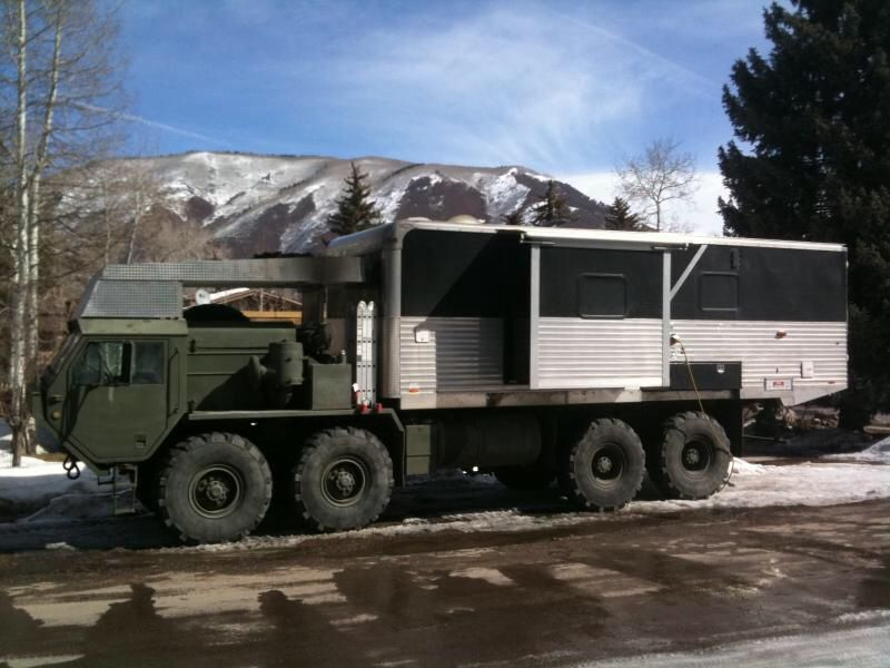 Man Cave On Wheels : Army rv a man cave on wheels for you and your buddies obytné