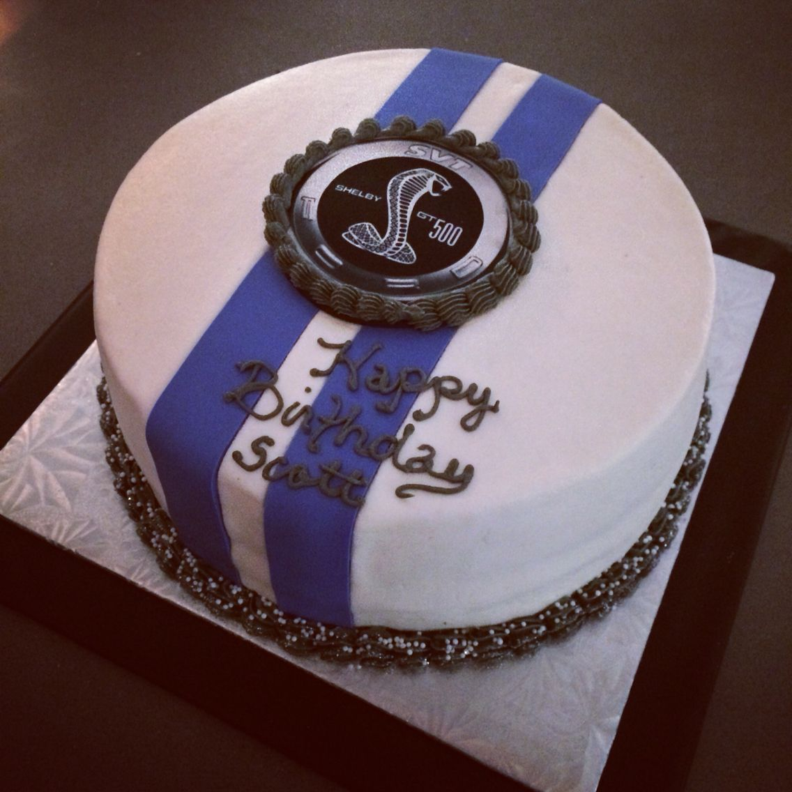 Shelby Mustang Cake My Cakes Cupcakes Pinterest Mustang