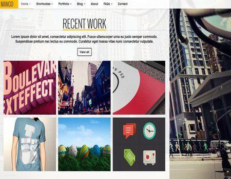 themes #WordPress Creativos Para Diseño Gráfico | Plantillas ...