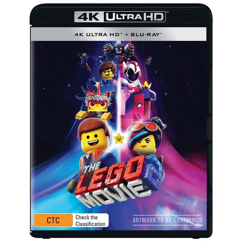 Lego Movie 2 The 4k Ultra Hd Blu Ray Jb Hi Fi Lego Movie Lego Movie 2 Lego Universe