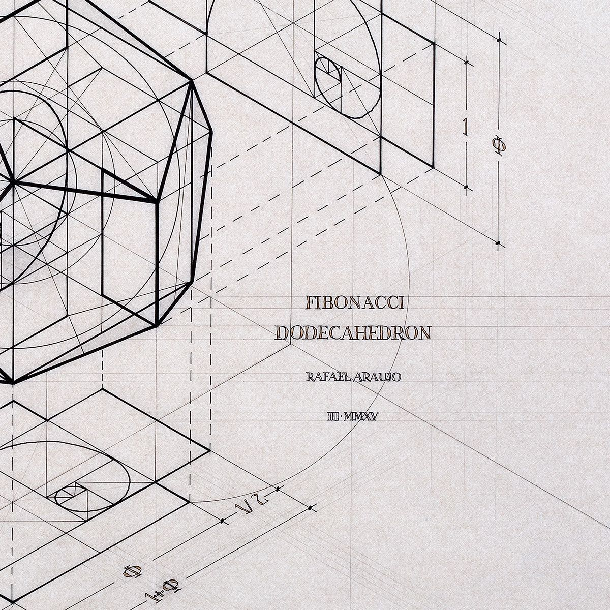 Fibonacci Dodecahedron The Colossal Shop