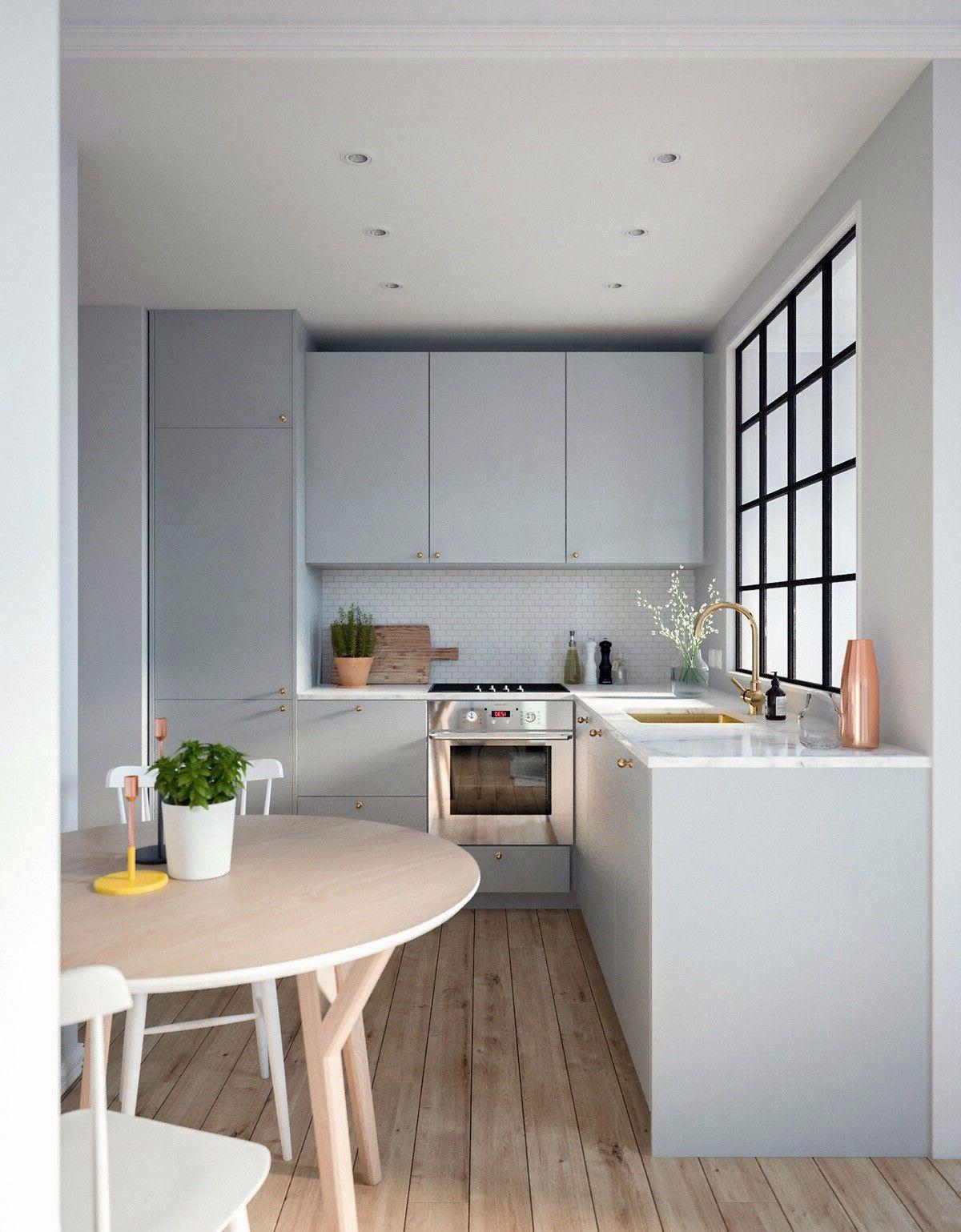 65 Unique Scandinavian Kitchen Window Design Ideas In 2020 Kitchen Remodel Small Kitchen Layout Kitchen Design