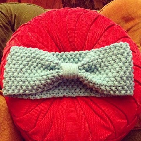 Knit pattern earwarmer | crochet/knit | Pinterest | Banda, Pulseras ...