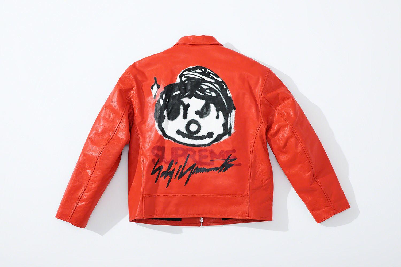 Supreme Supreme Yohji Yamamoto Varsity Jacket Yohji Yamamoto Jackets [ 1000 x 1500 Pixel ]