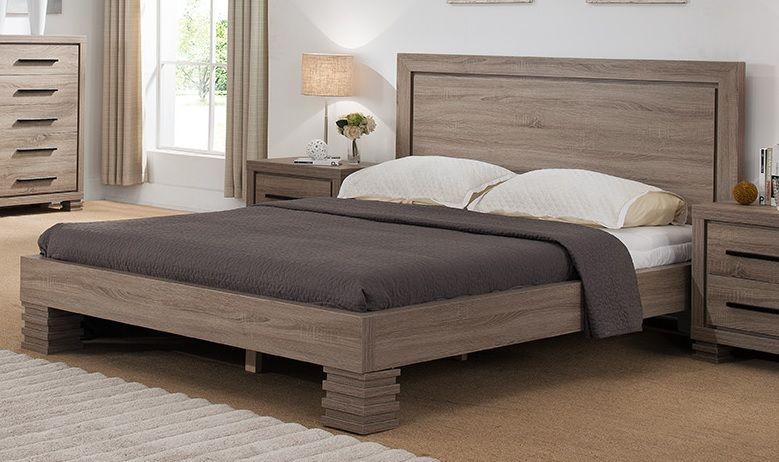 B9102q Smart Home Dark Taupe Queen Size Bedroom Set Queen Size