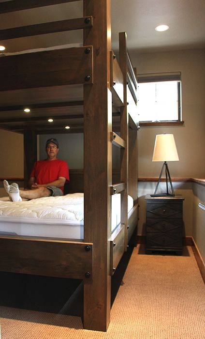 Our Bunk Beds Are Designed For Adults With 38 Of Space Between The