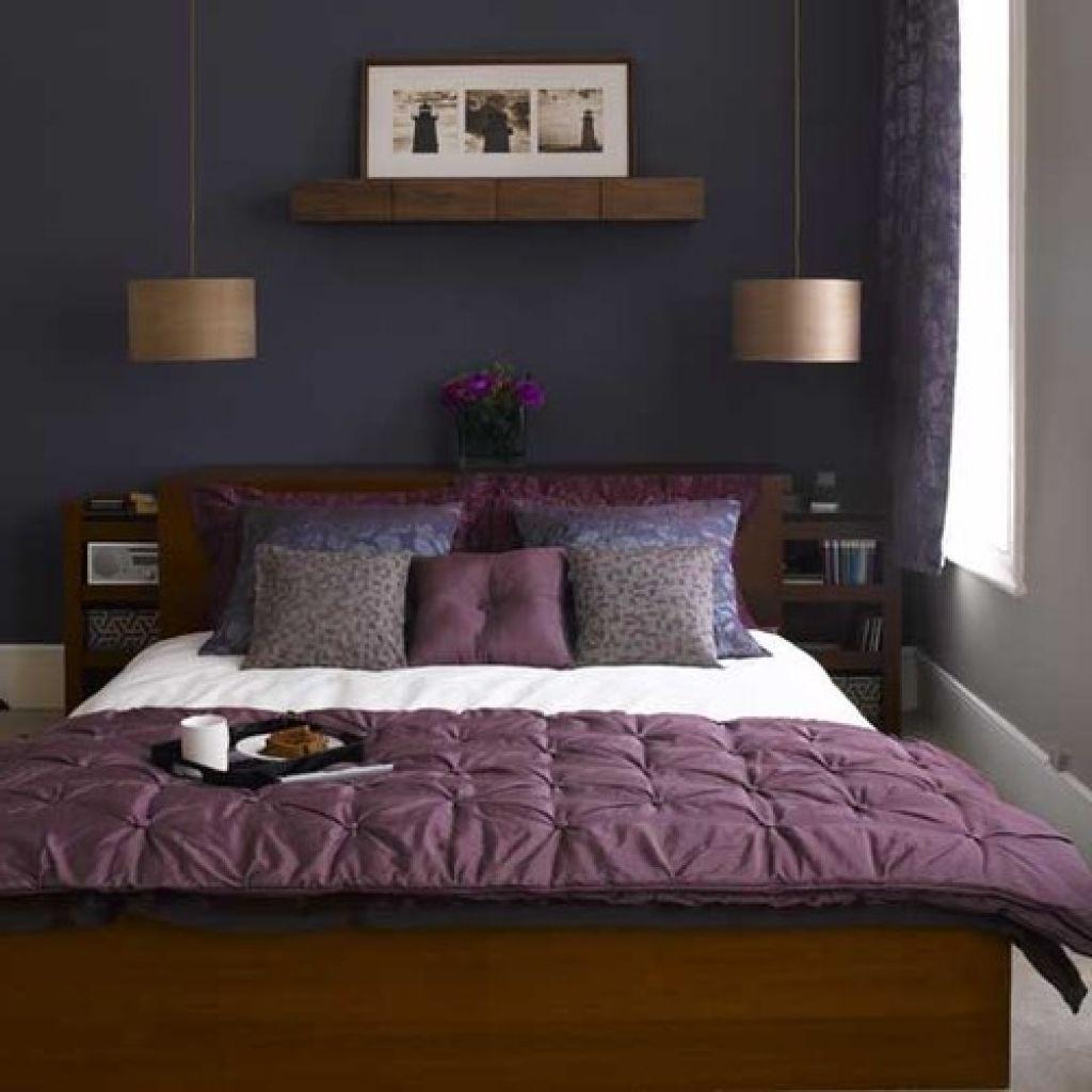 25 Attractive Purple Bedroom Design Ideas To Copy Small Bedroom Inspiration Eclectic Bedroom Small Master Bedroom