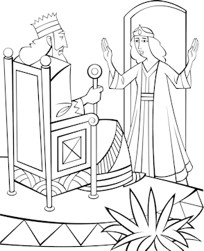 Free Bible Coloring Pages Queen Esther Bible Coloring Pages Bible Verse Art Bible Coloring