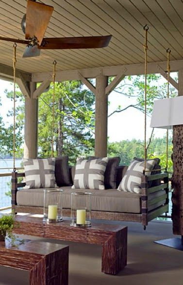 vintage finds inspiration porch swings outdoor living on porch swing ideas inspiration id=19968