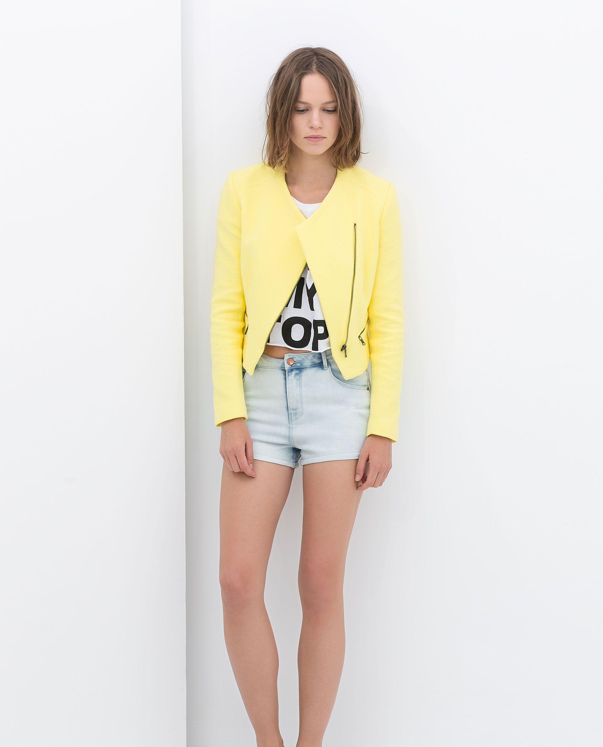 Tiro Zara Shorts Alto Alto De Pantalones 2 Cortos Talle Imagen XwHqtx a920d0a8dabe5