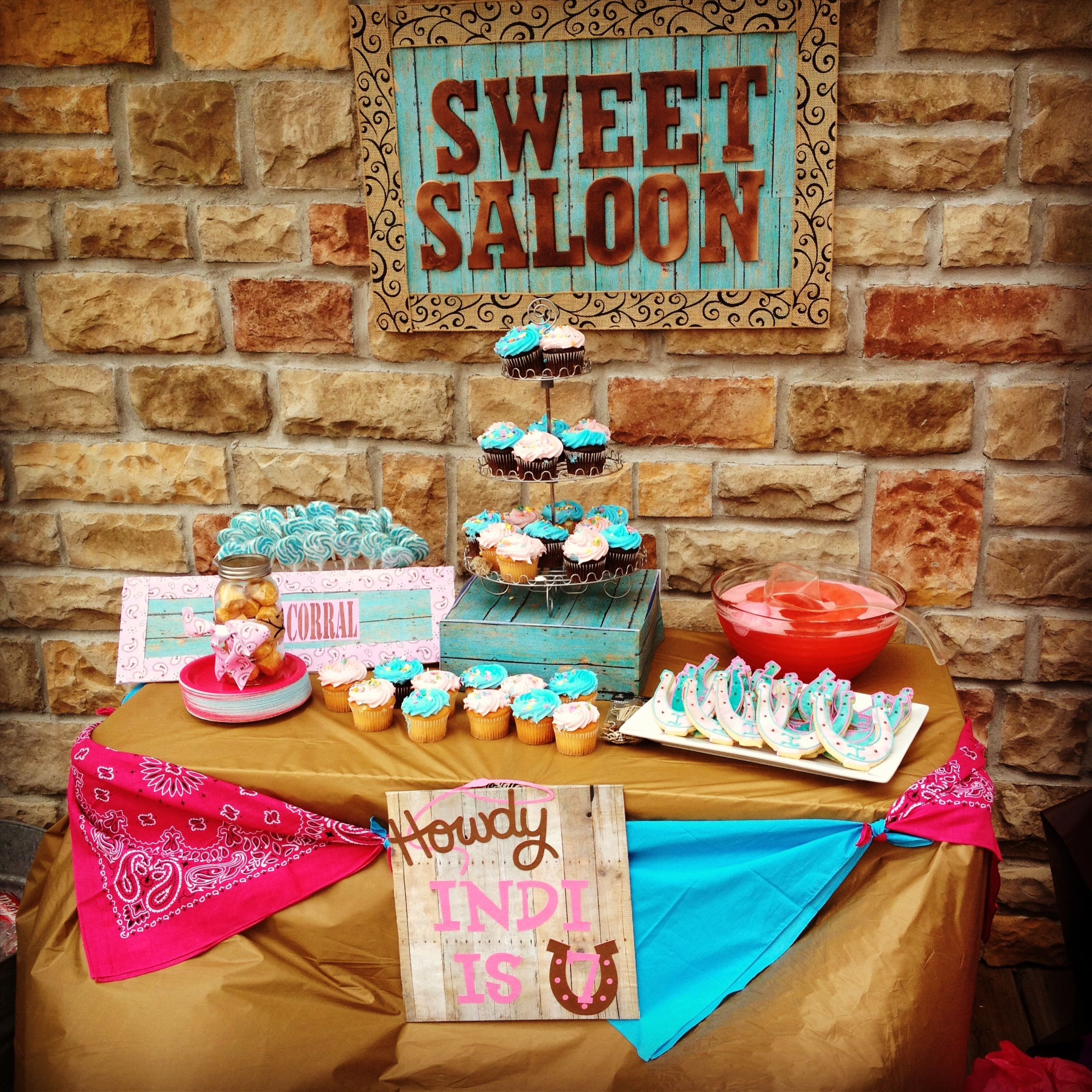 Cowgirl Western Theme Party | Cowgirl | Pinterest