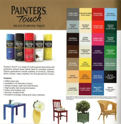 Rustoleum Spray Paint Color Chart Spray Paint Projects Tips
